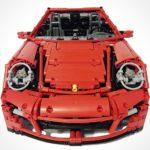 check out this incredibly detailed LEGO Porsche 911