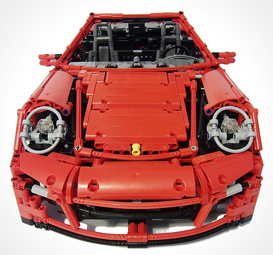 LEGO Porsche 911 Turbo Cabriolet PDK 544x508px