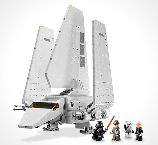 LEGO Star Wars Imperial Shuttle 544x500px