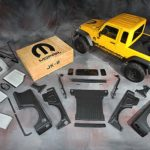 Jeep Wrangler converts to Pickup form with official kit