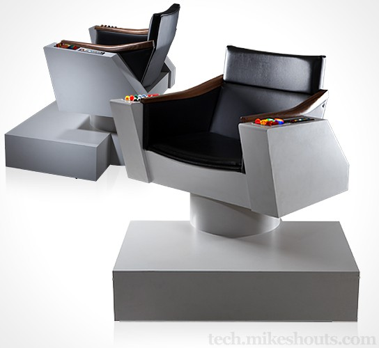 Star Trek Original Series Captain's Chair Replica 544x500px