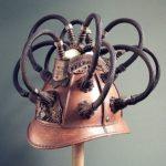 steampunk: Tom Banwell's Tauruscat Dream Helmet