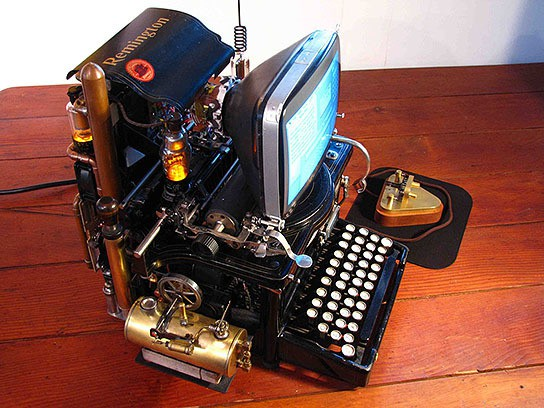 Wozniak's Conundrum Steampunk Mac 544x408px
