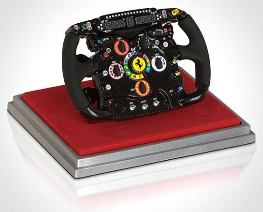 Scuderia Ferrari 150° Italia 1:4 Scale Steering Wheel 544x438px