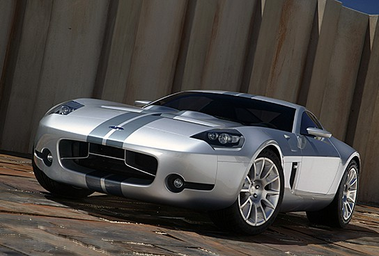 2005 Ford Shelby GR-1 Concept Platform 544x368px