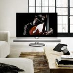 Bang & Olufsen BeoVision 7 with integrated 3D Blu-ray player