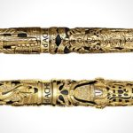 Caran d'Ache Balaji Diamond and Gold Edition writing instruments