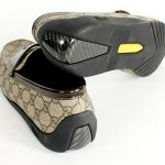 Gucci Mocassin has carbon fiber inserts at its heels