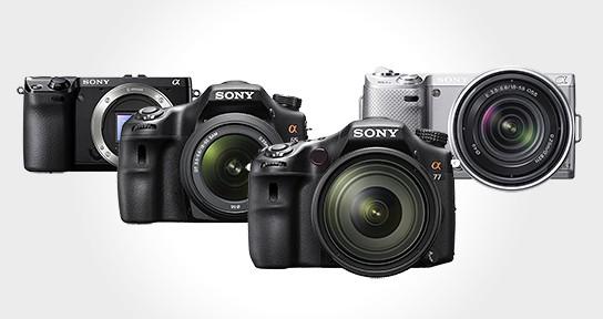 Sony Digital SLR 544x288px