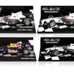 limited edition 1:43 Scale Formula One Race Cars