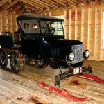 "1923 Ford Model T ""White Garage"" Snowmobile"