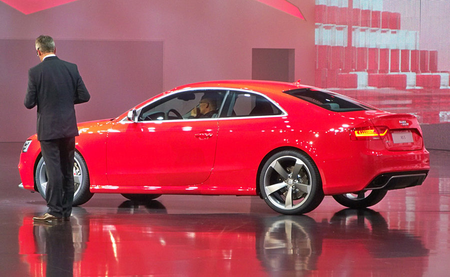 2012 Audi RS 5 Coupe at Frankfurt Motor Show 900x555px