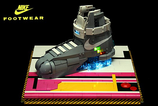 LEGO Nike MAG shoes 544x366px