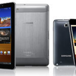 Samsung Galaxy 7.7 Tab and Galaxy Note