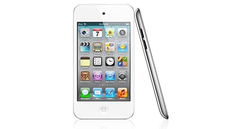 Apple iPod Touch White 720x412px