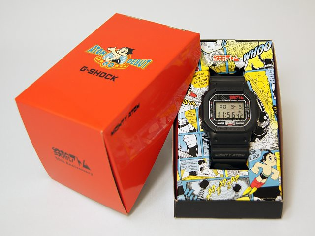 Astro Boy 60th Anniversary CASIO G-Shock Watch 640x480px
