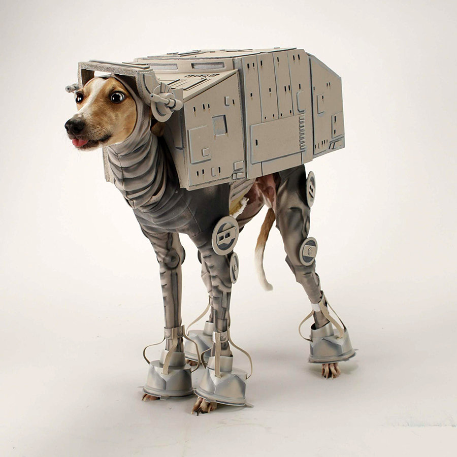Bone Mello in AT-AT Costume 900x900px
