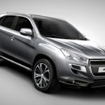 Peugeot 4008 4X4 All-Terrain Sports Utility Vehicle