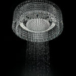 Chandelier-Shower – luxe lights and shower comes together