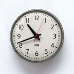 1960s IBM 13.5-inch Standard Issue Clock