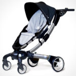 4moms origami: the world's first power-folding stroller