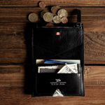 Hard Graft Zip Wallet and Bill Folder / Nero