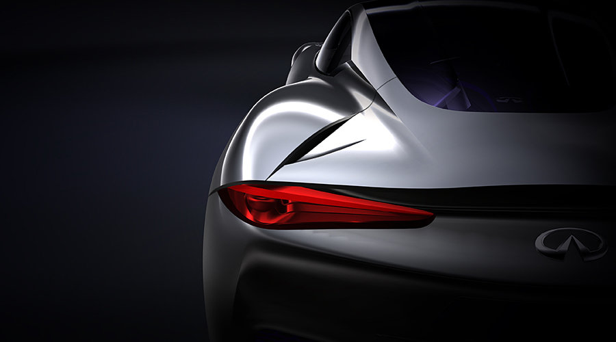 Infiniti Range Extending Electric Sports Concept 900x500px