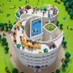 Times Magazine LEGO logo by Sachiko Akinaga