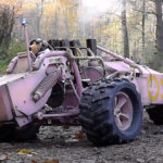 video: awesome steam-powered RC Trike is painted pink