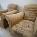 Vintage Coffee Bean Bag Chairs – they are not bean bags!