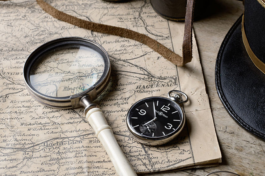 Bell & Ross PW1 Pocket Watch