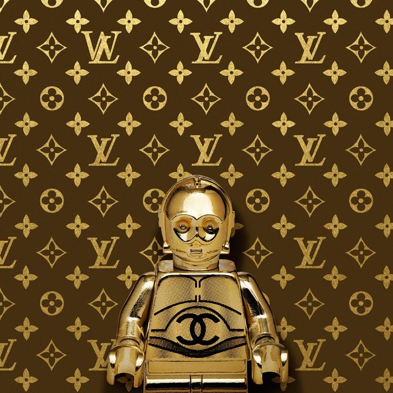 Dale May's V3PO Louis Vuitton Portrait