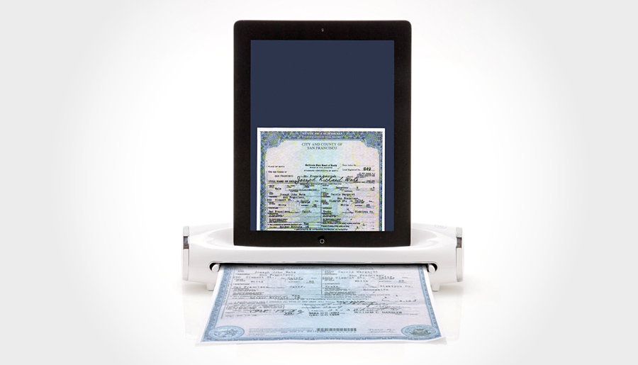 Brookstone iConvert Scanner for iPad and iPad 2