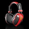 Scuderia Ferrari P200 Over-ear Headphones - Red
