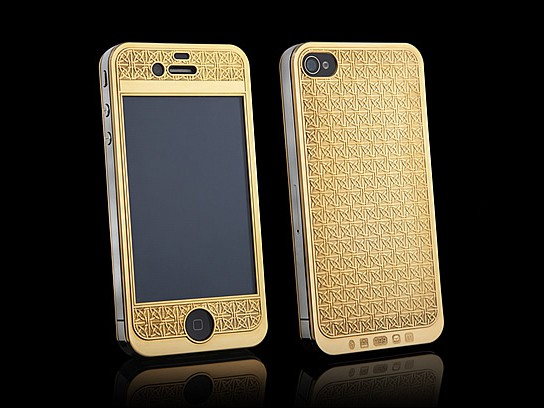 Suvarna Bullion iPhone 4S: a solid 24ct gold iPhone  | SHOUTS