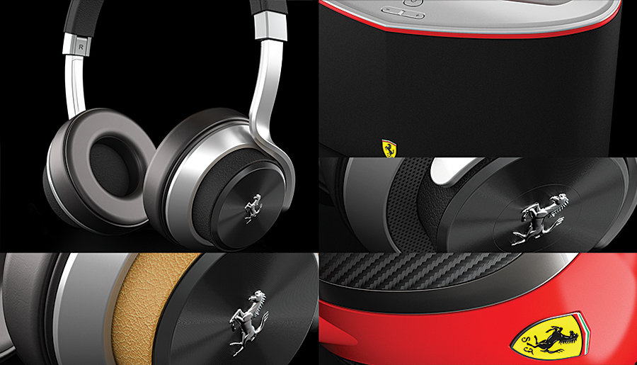The Ferrari Audio Collection by Logic3