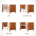 Gro Furniture 5-in-1 Companion Crib and Desk