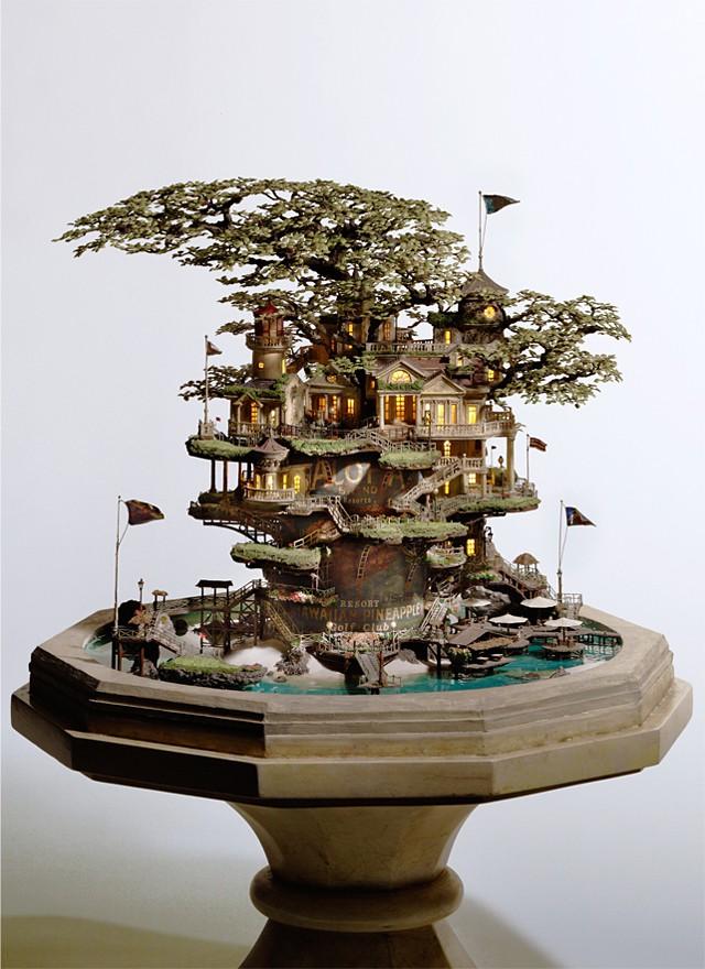 Takanori Aiba's Bonsai Art(chitecture) - Hawaiian Pineapple Resort