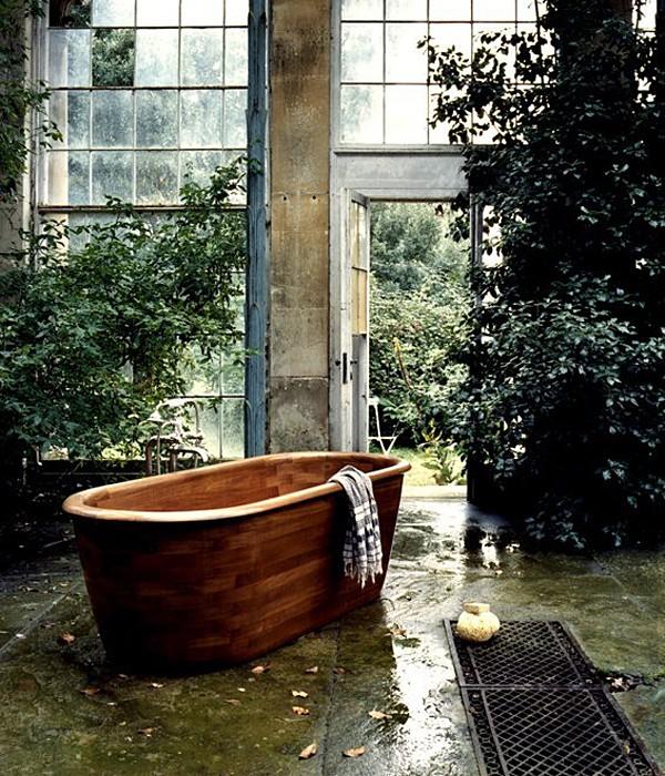 Teak Bath