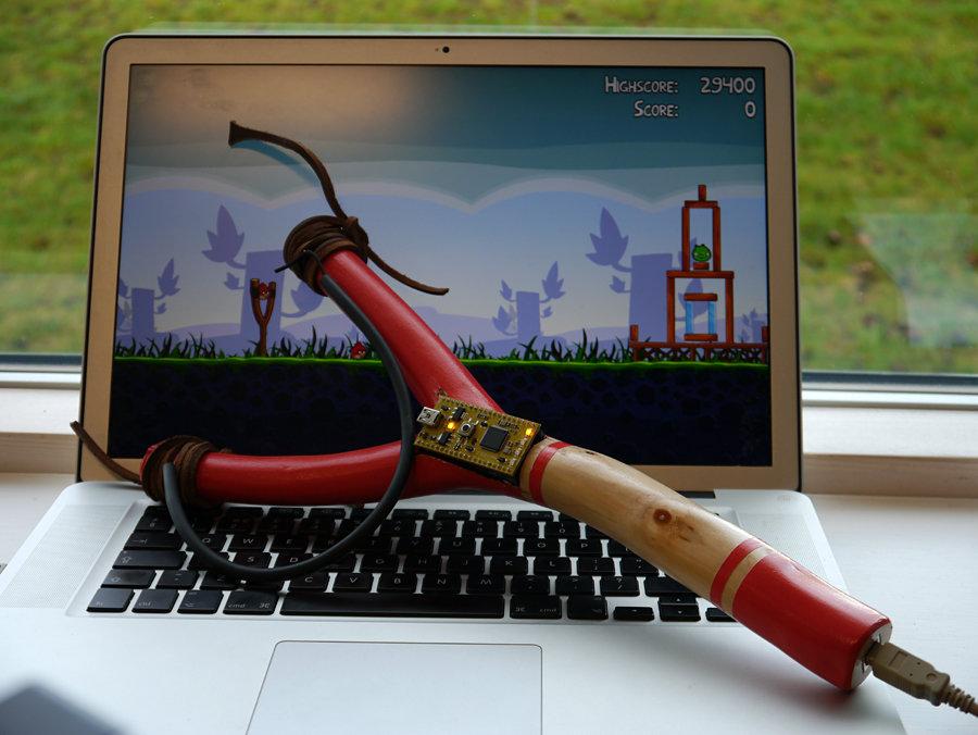 Angry Birds USB Slingshot