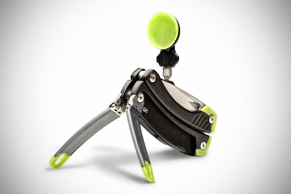 Gerber Steady Tool multi-tool with tripod