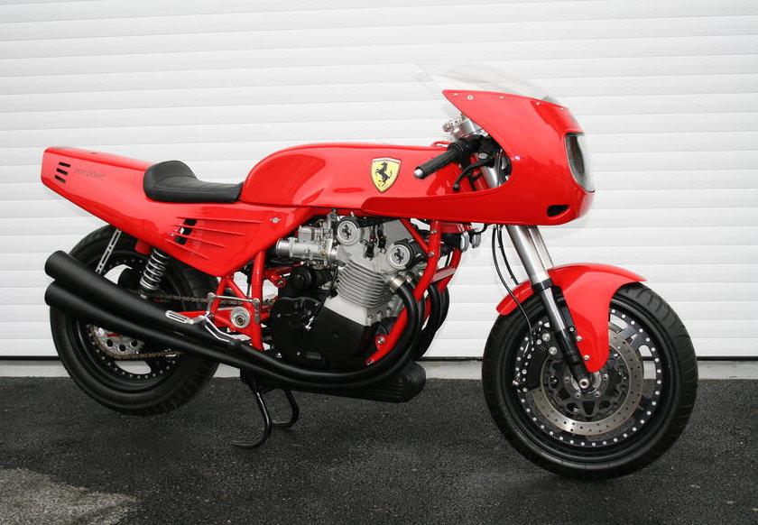 1995 Ferrari 900cc Motorcycle by David Kay Engineering