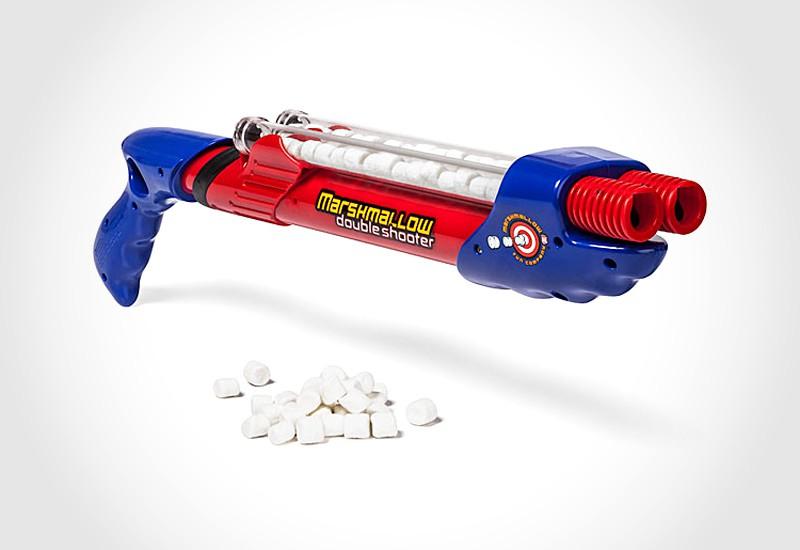 Double Barreled Marshmallow Shooter