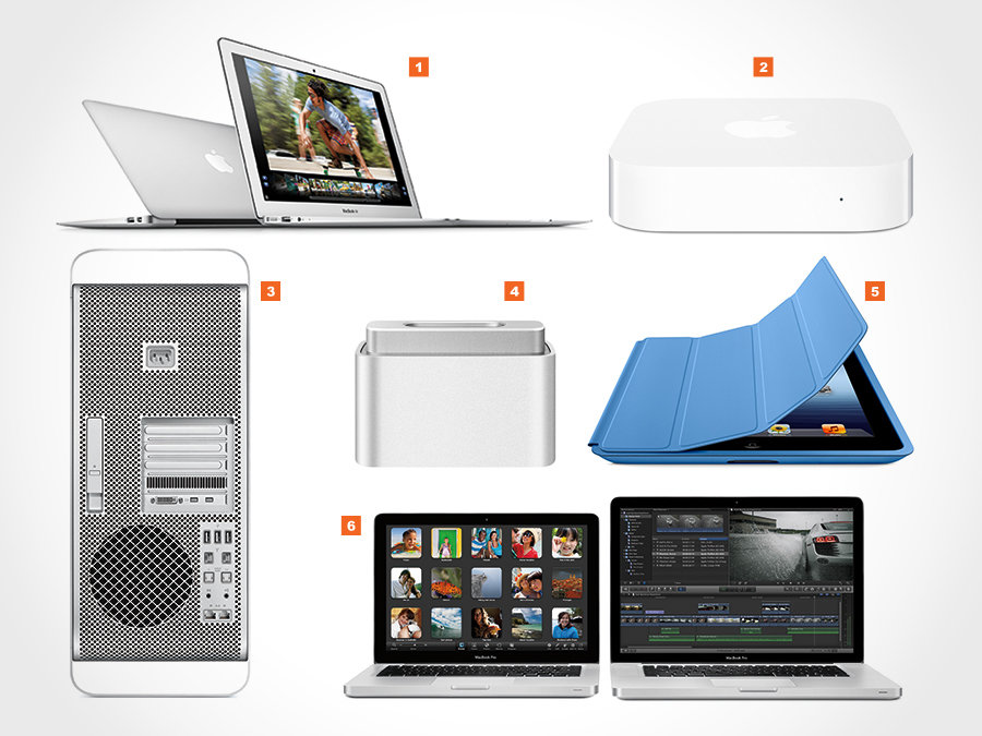 2012 Apple Product Updates and Accessories