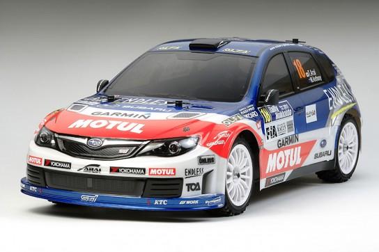 Tamiya RC Subaru Impreza WRX STi XV-01 Team Arai