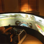 Benny Drive 175-Degree Display Racing Simulator