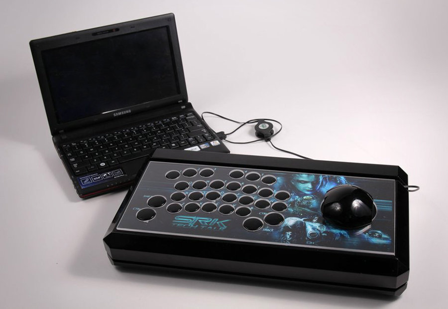 Ultimate Starcraft II Arcade Stick Controller