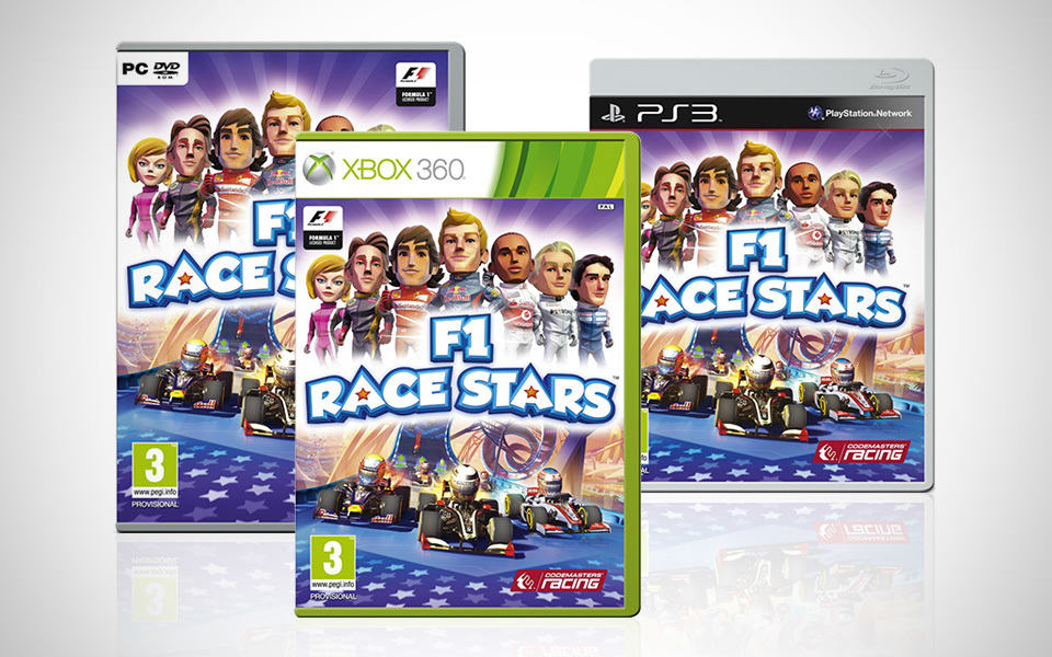 F1 Race Stars Video Game