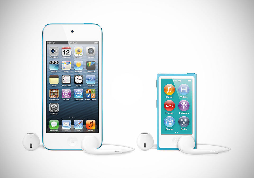 Apple iPod touch and iPod nano