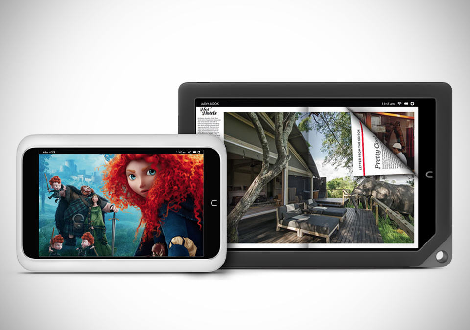 Barnes & Noble Nook HD and HD+ Slate